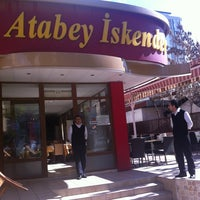 Photo taken at Atabey İskender by Adnan on 2/16/2013
