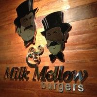 Photo taken at Milk & Mellow Burgers by Ricardo N. on 3/10/2013