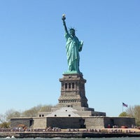 Photo taken at Statue of Liberty Ferry by Kristina M. on 5/3/2013