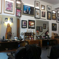 Photo taken at Maloney's Barber Shop by Christian F. on 3/7/2013