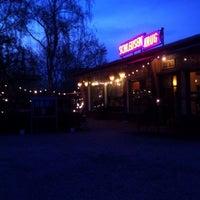 Photo taken at Schleusenkrug by Tiffany on 4/21/2013