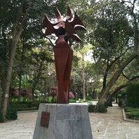 Photo taken at Jardín del Arte by Meztli Luna l. on 12/12/2012