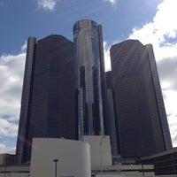 Photo taken at Detroit Marriott at the Renaissance Center by Rachel D. on 5/24/2013