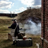 Photo taken at Fort Mifflin by Sarah on 2/17/2013