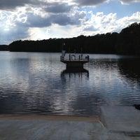 Photo taken at Lake Johnson by Raleigh C. on 5/7/2013