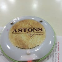 Photo taken at Astons Express by Karrie N. on 6/3/2014
