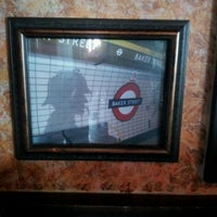 Photo taken at Baker Street Pub by Ashley M. on 11/21/2012