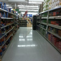 Photo taken at Walmart Supercenter by Sally on 1/25/2013