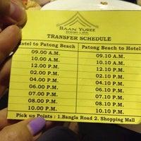 Photo taken at Baan Yuree Resort And Spa Phuket by PeiPei T. on 4/9/2013