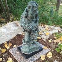 Photo taken at Umlauf Sculpture Garden by Enrique G. on 11/11/2012