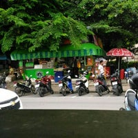 Photo taken at สระน้ำ มหาวิทยาลัยรามคำแหง by Suravit T. on 7/8/2016