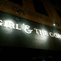 Photo taken at Girl & the Goat by Mike C. on 10/30/2012