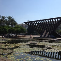 Photo taken at Rabin Square by Ilan B. on 7/16/2013