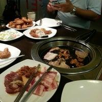 Photo taken at Blue Garden Korean BBQ Restaurant by @Malathi@ on 11/2/2012