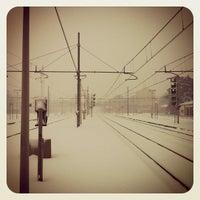 Photo taken at Stazione Faenza by Raffaele B. on 2/1/2012
