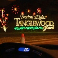 Photo taken at Tanglewood Festival of Lights by Luke B. on 12/11/2011