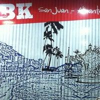 Photo taken at Burger King Golf San Juan by caroWansilla on 3/18/2012