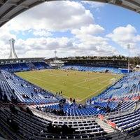 Photo taken at Stade Saputo by Toyota Park on 4/27/2013