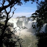 Photo taken at Iguazu Falls by Livio Ramon R. on 5/1/2013