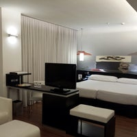 Photo taken at Hotel AXOR Barajas****plus by Antonio S. on 6/3/2013
