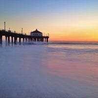 Photo taken at Manhattan Beach Pier by John T. on 9/30/2012