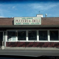 Photo taken at Velasko Pizzeria & Deli by Gina W. on 10/1/2012