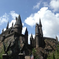 Photo taken at Harry Potter and the Forbidden Journey / Hogwarts Castle by Uğur K. on 6/30/2013