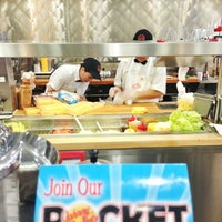 Photo taken at Johnny Rockets by Kittiphong B. on 4/5/2013