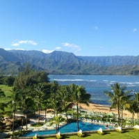 Photo taken at The St. Regis Princeville Resort by Gothamista on 1/13/2013