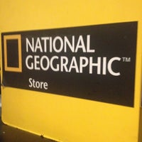 Photo taken at The National Geographic Singapore Store Café by Doris T. on 4/9/2013