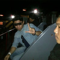 Photo taken at 4D Motion Master Theatre by Aqil K. on 10/15/2012