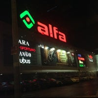 Photo taken at Alfa by Julenka M. on 10/27/2013