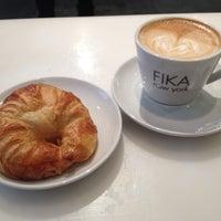 Photo taken at FIKA Espresso Bar by Elaine on 12/7/2012