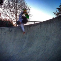 Photo taken at Sunnyvale Skate Park by Rich on 12/20/2013