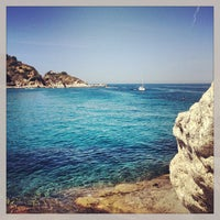 Photo taken at Spiaggia del Cotoncello by Christian G. on 9/1/2013