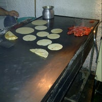 Photo taken at Super Tacos Pirata Saul by Alberto R. on 11/29/2012