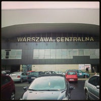 Photo taken at Warszawa Centralna by Agata L. on 5/1/2013