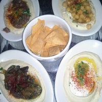 Photo taken at Hummus Place by Crystal C. on 1/21/2013