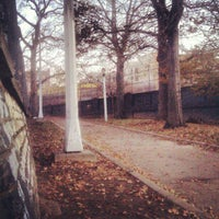 Photo taken at Lincoln Terrace Park by Kenny on 11/23/2012