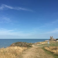 Photo taken at Reculver Towers and Roman Fort by Gokce R. on 9/1/2016