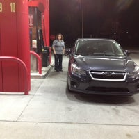 Photo taken at SHEETZ by Matt B. on 10/22/2012