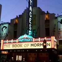 Photo taken at Pantages Theatre by Andrew on 9/29/2012