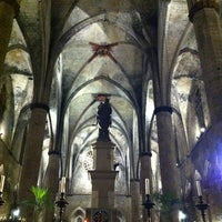 Photo taken at Basílica de Santa Maria del Mar by César on 12/8/2012