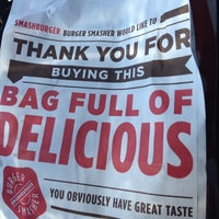 Photo taken at Smashburger by Paul F. on 3/12/2014