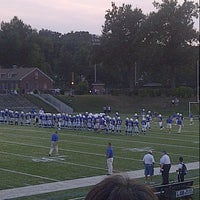 Photo taken at Doyle Field by Ila S. on 9/14/2012