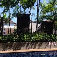 Photo taken at Baramee Resortel Phuket by Svetlana on 6/10/2014