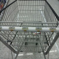 Photo taken at Cometa Supermercados by Bia C. on 2/5/2013