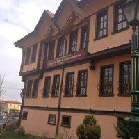 Photo taken at Çağdaş Cam Sanatları Müzesi by Fahriye Esra B.🎶 on 3/28/2013