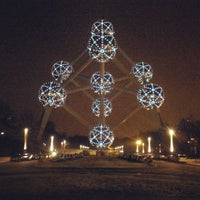 Photo taken at Atomium by Bruno S. on 2/13/2013