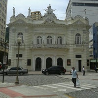Photo taken at Teatro Carlos Gomes by Aline C. on 2/6/2013